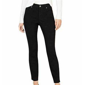 Maison Jules Black Skinny Jeans Tuxedo Stripe NWT